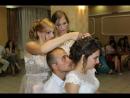 9-обряд знімання фати. весілля Ольги та Андрія м Рожнятів 30 07 2017р