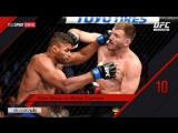 Top 10 Fight of 2016 #10 Stipe Miocic VS Alistair Overeem