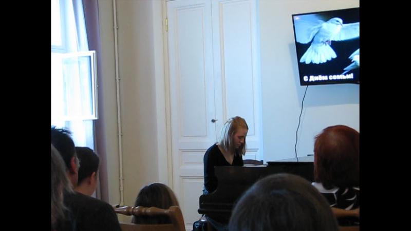 Иоганн Себастьян Бах Хорошо темперированный клавир II том Прелюдия и фуга соль диез минор Исполняет Берёзкина Екатерина