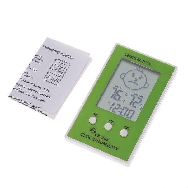 Цифровой термометр-гигрометр CX-201