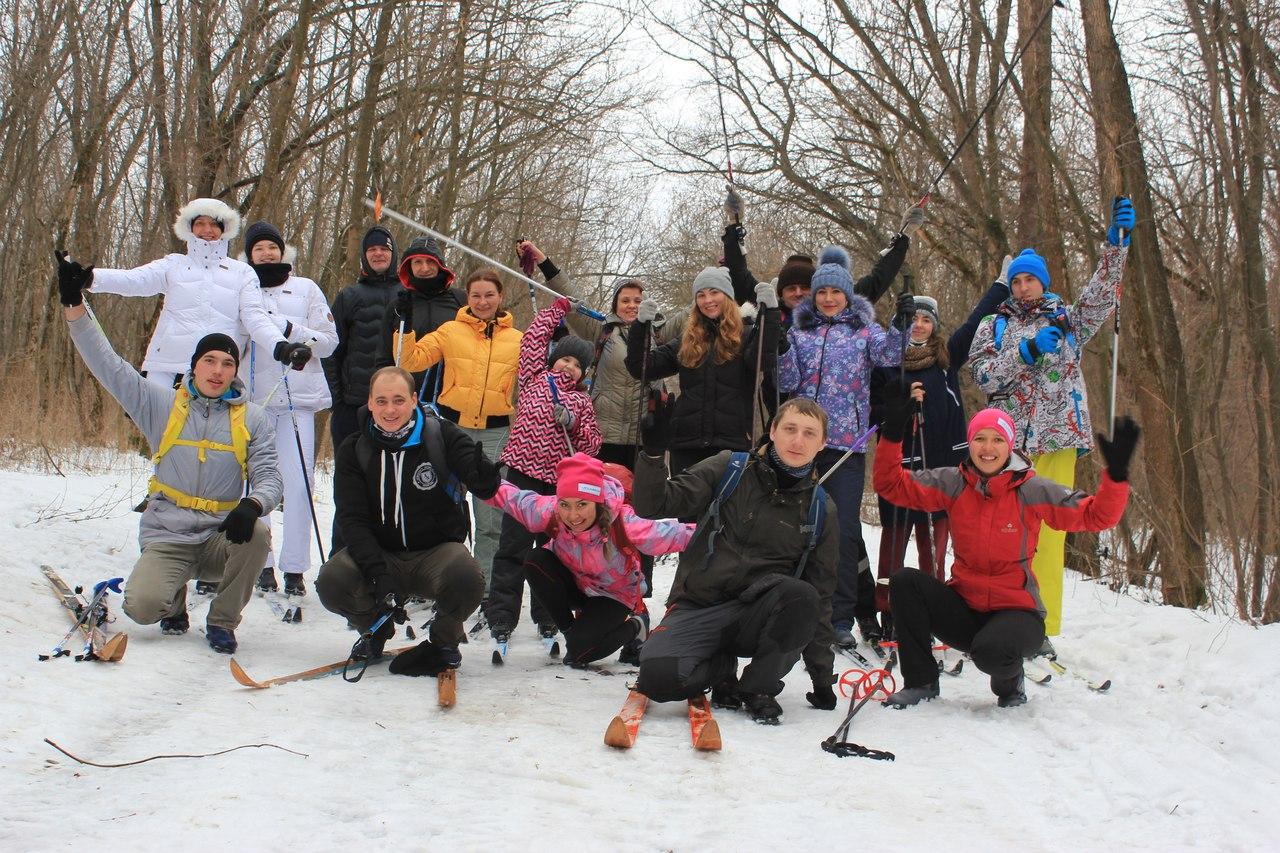 Лыжная прогулка 3 января! Автор - инструктор группы Щекинова Татьяна!