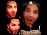 Adam Lambert - Happy Chanukah! 24122016