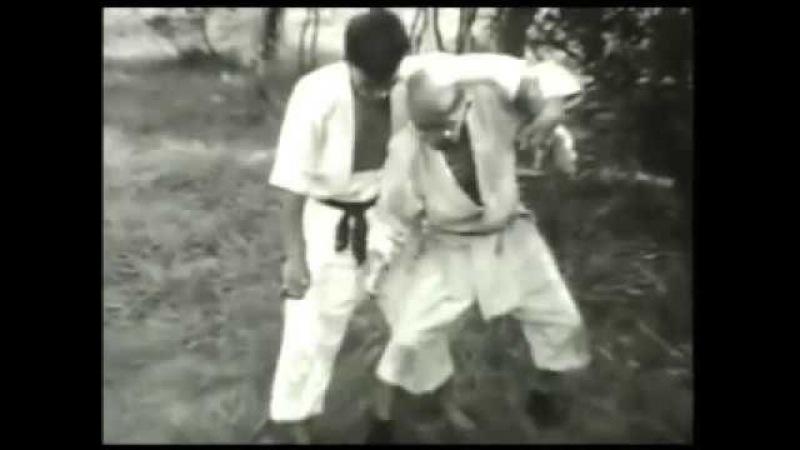 Айкидо в Ниндзюцу мастер Такамацу