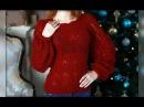 Ажурный свитер крючком для начинающих: часть 1
