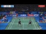 Good match from both new pairs - Setiawan/Tan vs Endo/Watanabe