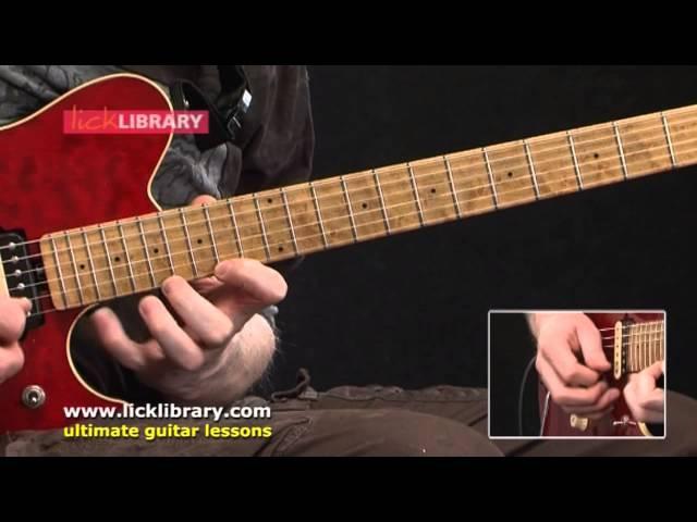 Van Halen Style Guitar Performance by Jamie Humphries - Quick Licks DVD