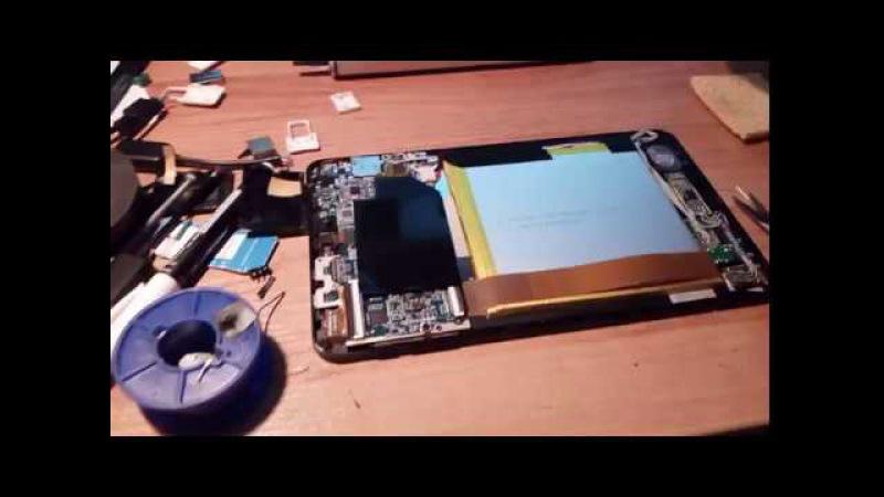 Chuwi Vi8 Второй USB разъем на плате