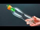 Необычная идея из бутылки и зажигалкиAn unusual DIY project idea of reusing a bottle and a lighter