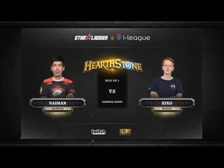 [RU] Naiman vs Xixo | SL i-League Hearthstone StarSeries Season 3 (26.05.2017)