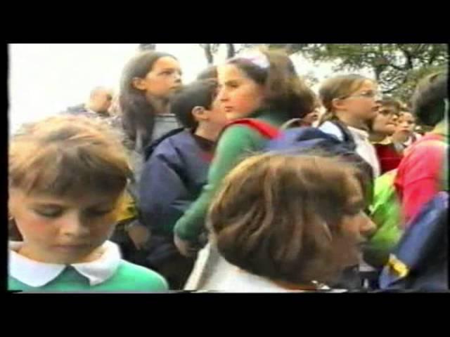 LA BERNERIE EN RETZ 1997 CLASSE DE MER ECOLE STE MARIE DE VALLET CENTRE LA GARENNE DE ROLAND CLENET
