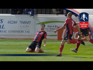 Brackley Town 4-3 Gillingham (Replay) Emirates FA Cup 2016/17 (R1) | Goals & Highlights