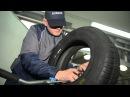 Часть 1. Правильный ремонт шины, боковой порез с материалами Rossvik