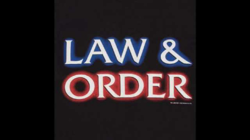 Law Order: Sound Effect