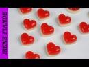 Желейные конфеты Желейный сердечки ко дню Святого Валентина