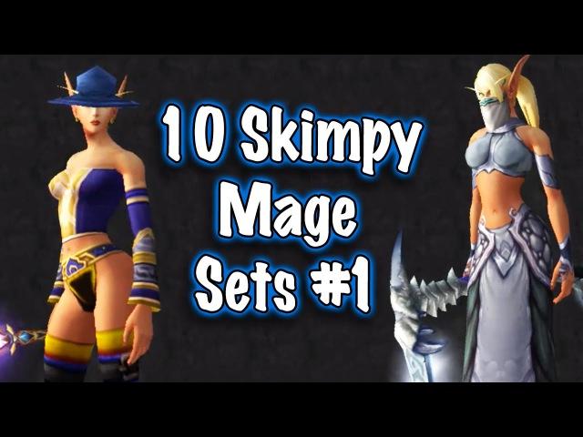 Jessiehealz - 10 Skimpy Mage Sets 1 (World of Warcraft)