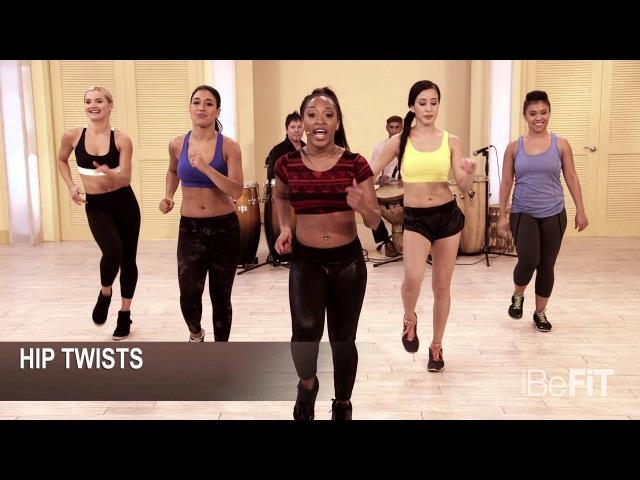 Brazilian Booty Burn Workout: Burn to the Beat- Keaira LaShae