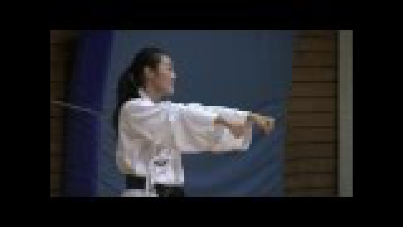 Part1: Master Anna Kim, 6 Dan Taekwondo. Training session Part 1 of 2