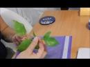 сборка ветки с листочками сирени