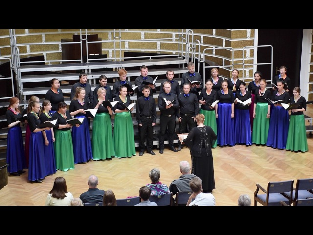 Youth Capella Harmony Time is Endless Vytautas Miskinis