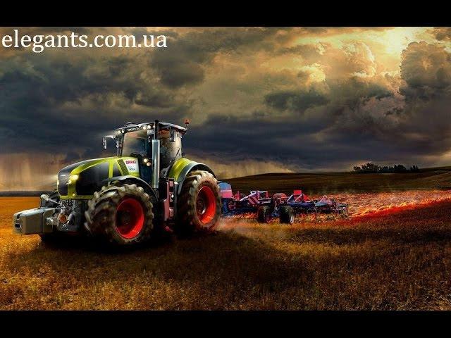 Трактор пашет землю, подготавливая ее к будущему урожаю - интересные последние новости на сайте www.viktoriay.ru/ Garden Club Victoria / Sumy (Ukraine) - Детско - Юношеский Центр