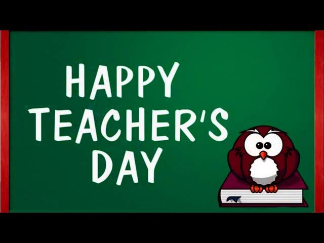 essay of teachers day
