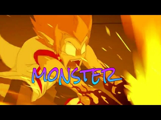 Tristepin and Eva-Monster(Ева и Грови-Monster)