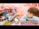 ✿ HELLO KITTY AIRLINE PLAYSET Toys Review Хелло Китти