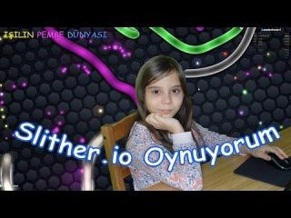 İlk Bilgisayar Oyunu Videosu - Slither.io Oynuyorum - Eğlenceli Çocuk Videosu - Funny Kids Videos