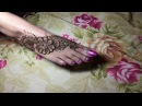 Beautiful henna tatto for foot( feet design for beginner)