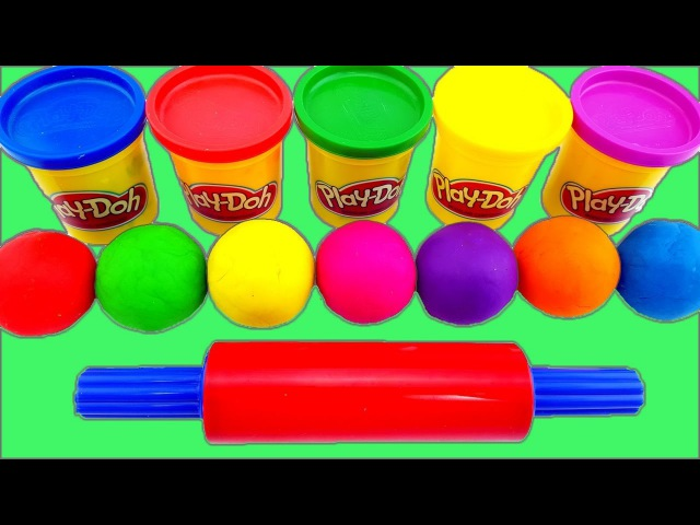 Learn Colors With Play doh Mold Hello Kitty My Little Pony Minions Mickey Mouse Nursery Rhymes Song