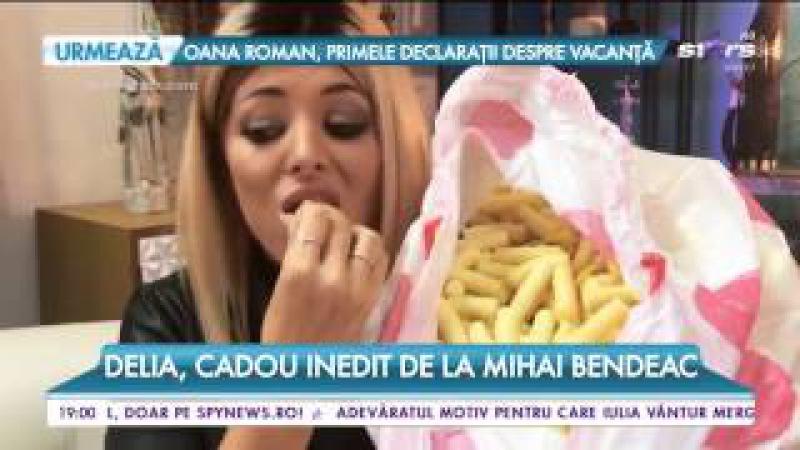 Delia, cadou inedit de la Mihai Bendeac