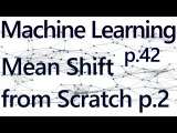 Mean Shift Dynamic Bandwidth - Practical Machine Learning Tutorial with Python p.42