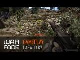 Gameplay Warface Daewoo K7