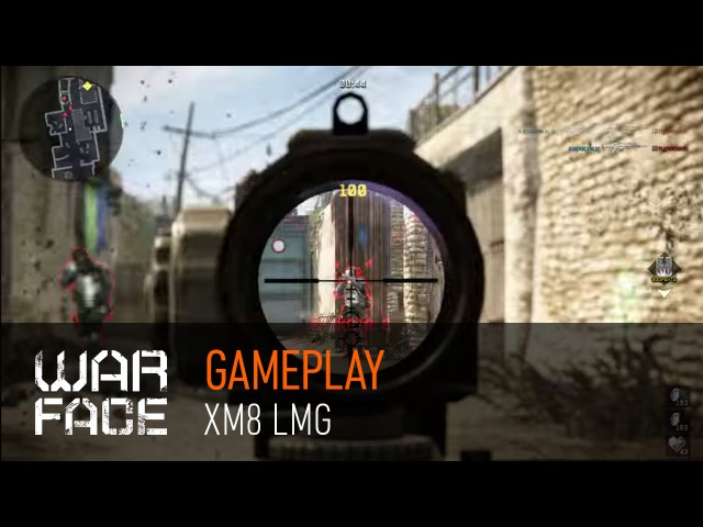 Gameplay Warface: XM8 LMG