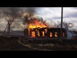 Пожар в с.Гуково (Шосткинский р-н) 18.03.17