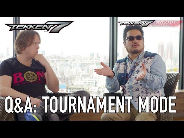 Tekken 7 - PS4/XB1/PC - Online Tournament Mode (QA Dev Interviews)