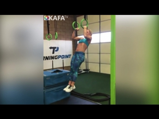 CRAZY FEMALE MUSCLE UPS - GIRLS ARE MONSTERS