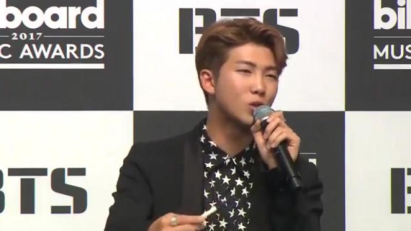 170529 BTS billboard award interview @ KBS pt.2