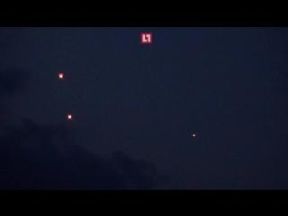 ВСУ из автоматов расстреляли  фонарики, запущенные в память о погибших детях в Донецке