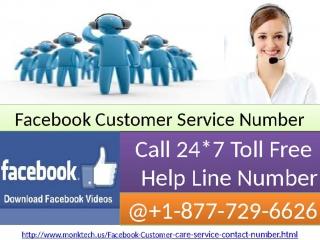 Prompt get arrangement on Facebook Customer Service Number 1-877-729-6626 Toll free