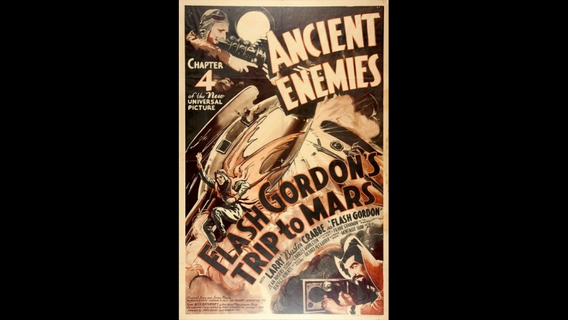 Путешествие Флеша Гордона на Марс (1938) epi 4 - Ancient Enemies