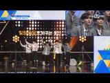 [SPECIAL] 170612 Реакция парней на танец <Never> на двойной скорости @ Mnet Official