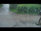 Дождь снятый со скоростью 180 кадров в секунду. Тест новой камеры.