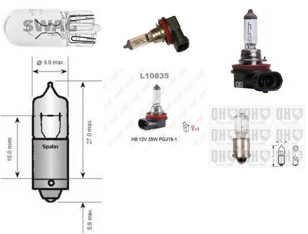 стояночные огни для BMW 7 (F01, F02, F03, F04)