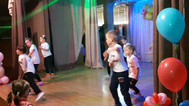 Отчётный концерт ДК Арбат. Брек-данс. Дети Арбата