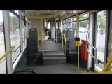 Поездка на трамвае Vario LF по маршруту 13