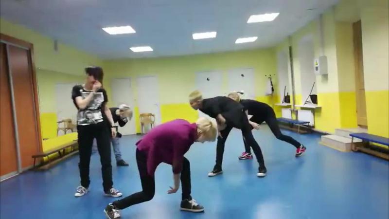 ParadoX - репетиции Boys Rebublic