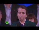 Озерчанка, фермер, Елена Малышева задала вопрос Владимиру Путину