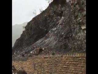 Последствия сильных ливней в Шамильском районе Дагестана ()