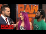 [WWE QTV]☆[Sasha Banks and Rich Swann are ready to dance at Extreme Rules[WWE QTV]☆[Саша Бэнкс и Рич Суонн готовы танцевать]